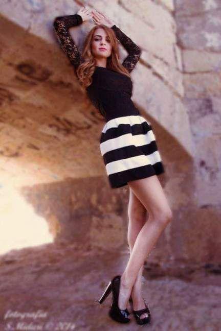 La falsa rossa:) #outfit #dress #fashionista