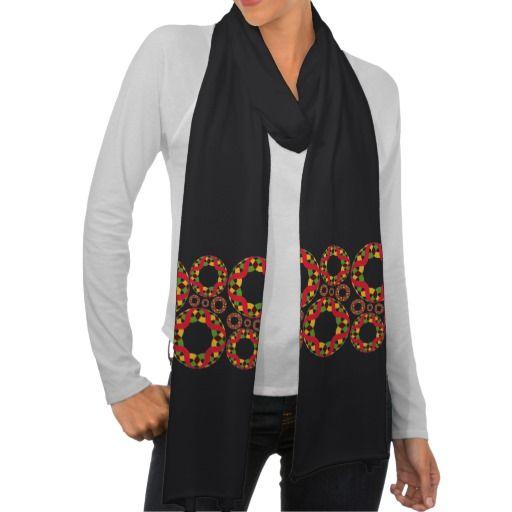 Coloridas formas patrón abstracto flores. Producto disponible en tienda Zazzle. Vestuario, moda. Product available in Zazzle store. Fashion wardrobe. Regalos, Gifts. Link to product: http://www.zazzle.com/coloridas_formas_patron_abstracto_flores_scarf-256107659310508181?CMPN=shareicon&lang=en&social=true&rf=238167879144476949 #scarf #bufanda