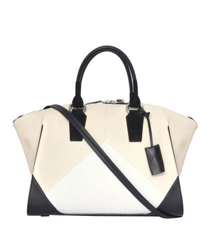 Narciso Rodriguez Beige Claire Zip Tote - Black & Cream Bag - ShopBAZAAR, Where would you tote this? http://keep.com/narciso-rodriguez-beige-claire-zip-tote-black-and-cream-bag-shopbazaar-by-megan_bazaar/k/y9T0TjgBMn/