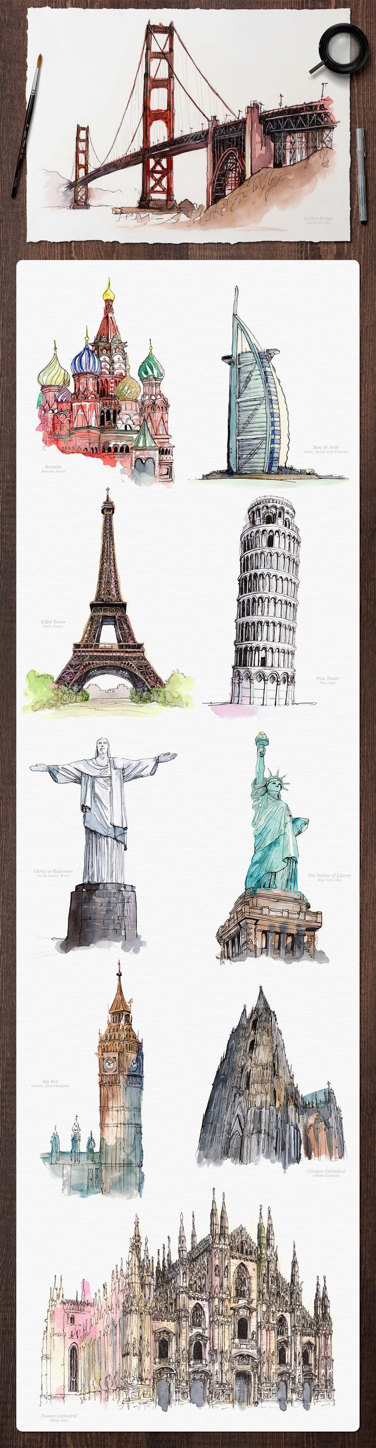 famous world monument pack - photo #39
