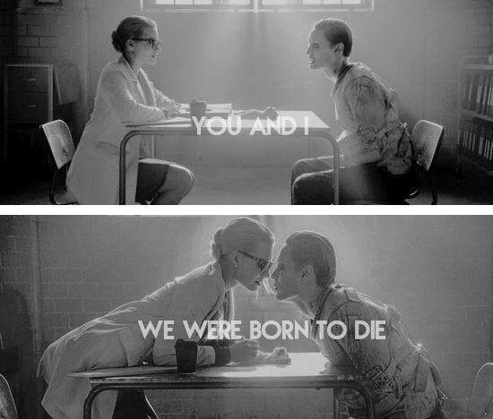 Ты и я. Мы были рождены умереть