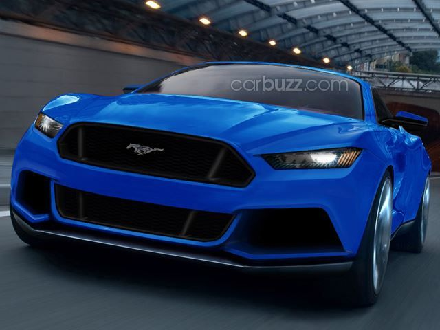 New Ford Mustang Comes into Focus