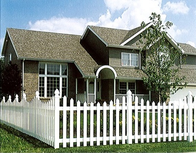 Perfect house....even has the picket fence lol