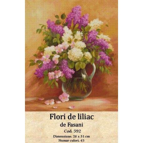 Vanzari set goblen Flori de liliac http://set-goblen.ro/flori/3570-flori-de-liliac.html