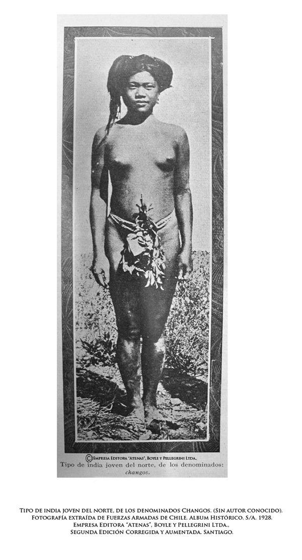 Tipo de india joven del norte, de los denominados Changos