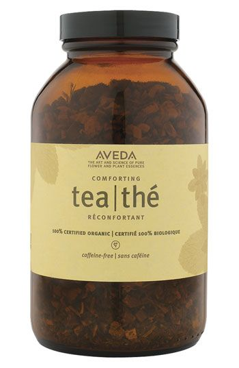 Aveda 'Comforting' Licorice/Peppermint/Fennel/Basil Tea - so extremely aromatic and flavorful.