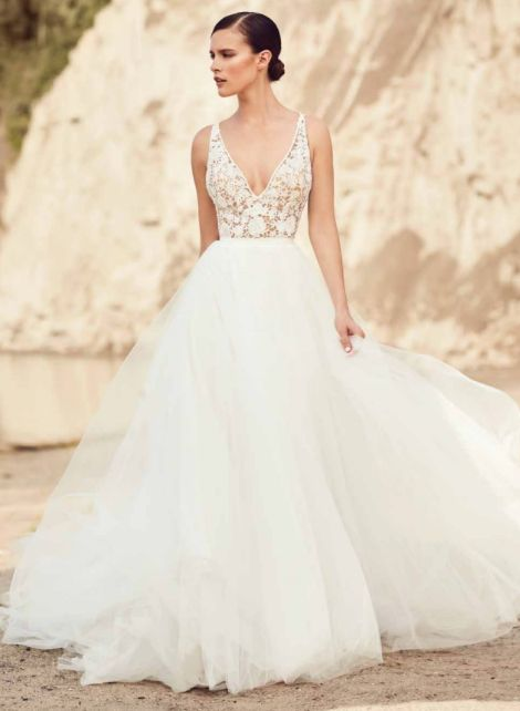 MIKAELLA BY PALOMA BLANCA // ONE & ONLY BRIDAL