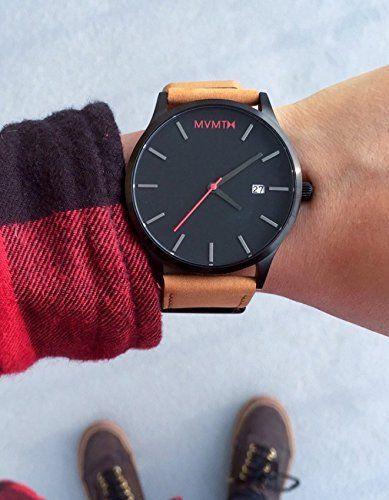 mvmt watches review, Luxury Brand Leather Watch Men - Deallagoon