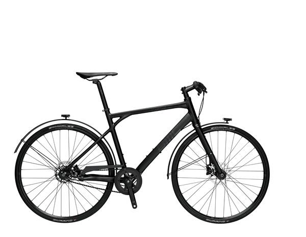 BMC urbanchallenge UC01 - Shimano Alfine 11, gates carbon drive, BMC aluminium frame, Alfine Disc Brakes, Integrated rechargeable LED lights into the fender, ~11,5 kg, ~€1900