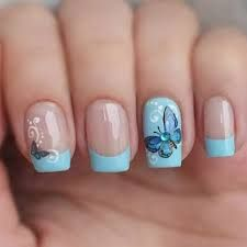 Картинки по запросу пошаговые рисунки на ногтях