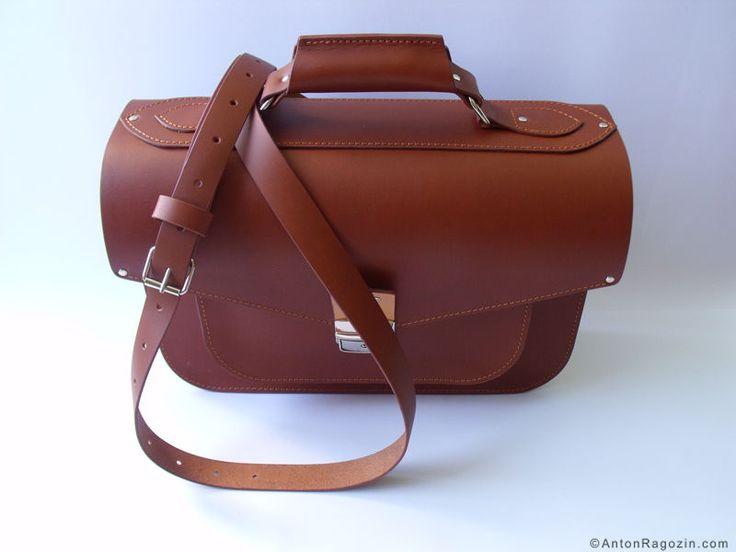 leather briefcase for man / Мужской кожаный портфель