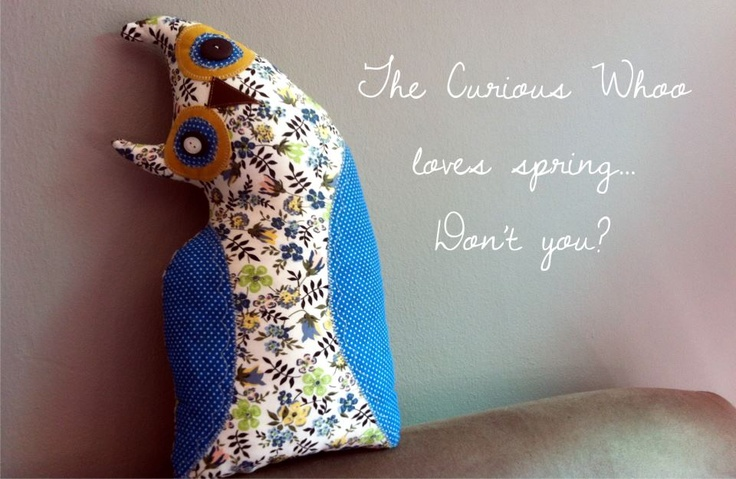 Curious Whoo - Soft toy owl