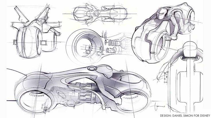 Tron Legacy Light Cycle | danielsimon