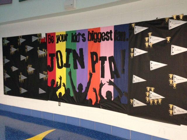 Faye Webb Elementary PTA in Corpus Christi showcasing the Texas PTA Membership Theme