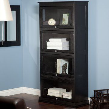 4-tier barrister bookcase