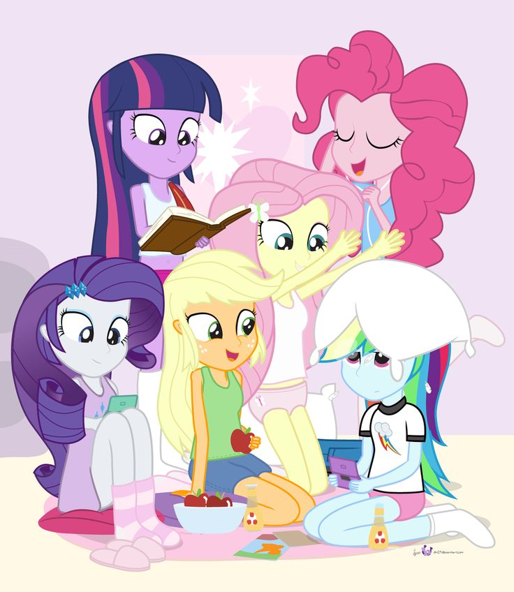 Super Slumber Party Sleepover! by dm29.deviantart.com on @deviantART