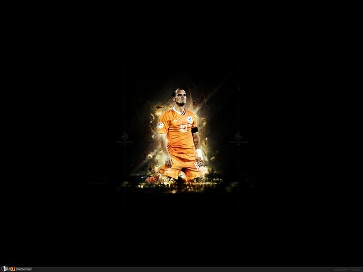 Wesley Sneijder - soccer / football