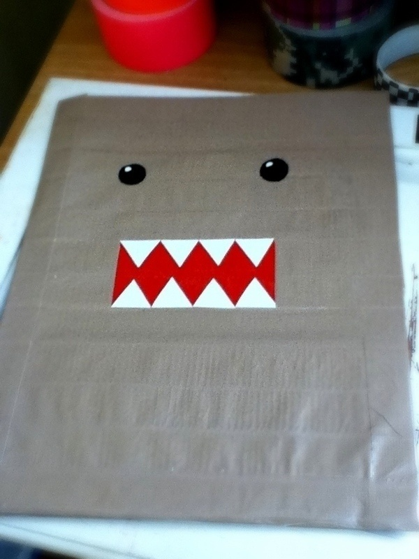 Duct Tape Domo Folder ya-program-ideas