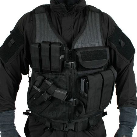 Lockhart Tactical - Tactical Equiptment You Can Count On! - Blackhawk Omega Vest Cross Draw/Pistol Mag