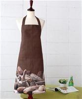 """Фартук """"Хлебные крошки на темном"""", -00% хлопок, 950 руб."""