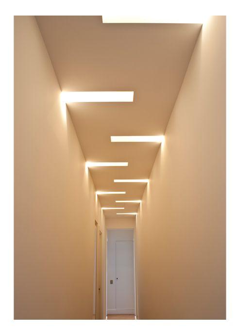 techo de durlock con iluminacion