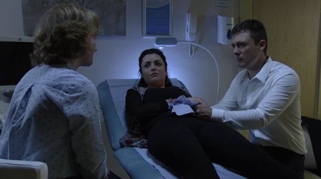 Emotional EastEnders episode sees Whitney suffer a miscarriage