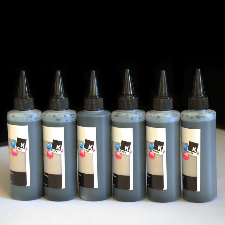 600ml Black Bulk Refill Ink for Brother LC103 LC105 LC107 CISS CIS Refillable