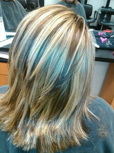 17 Best Ideas About Chunky Highlights On Pinterest Hair