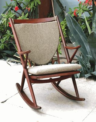Scandinavian Design Danish Modern Rocking Chair