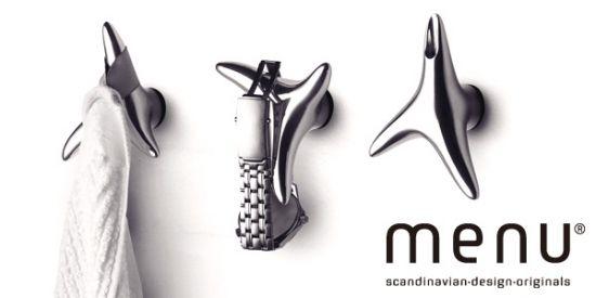 Wieszaki na biżuterię. MENU - DECO Salon. #hanger #jewellery #forher #gift #woman #scandinaviandesign