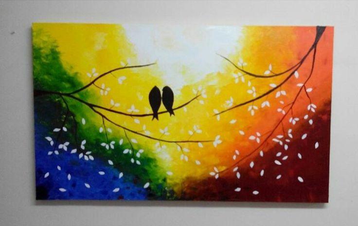 #pájaros #oleo
