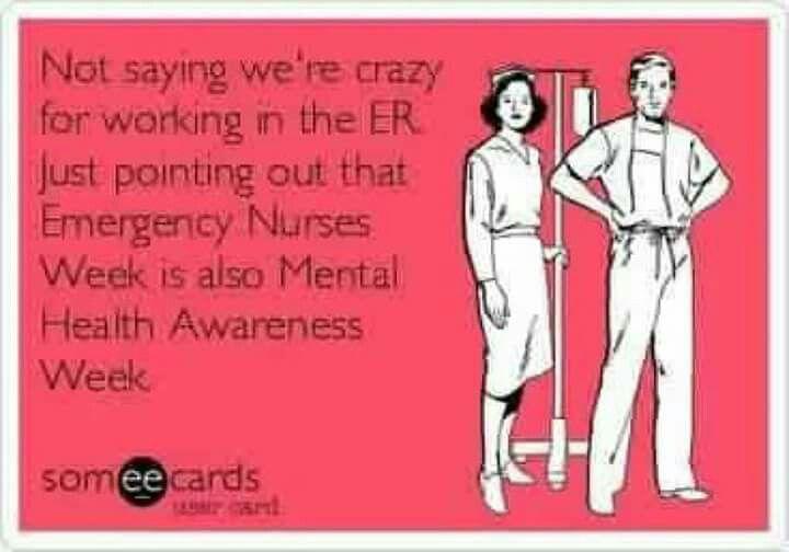 EMERGENCY NURSES WEEK!!!