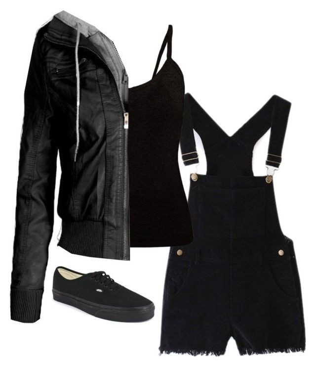 Untitled #74 by weird-fangirl on Polyvore featuring polyvore, fashion, style and Vans