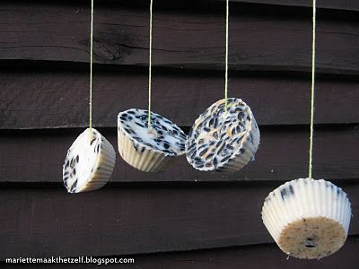 Mariette maakt het zelf: Voor de vogeltjes.........