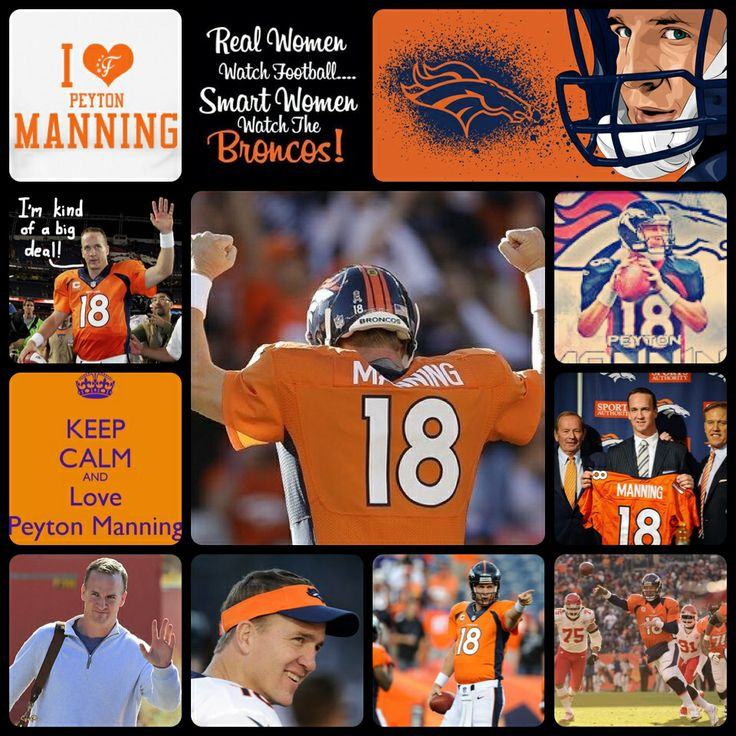 He's such an incredible guy...so proud to support him & that he's leading the Broncos!!