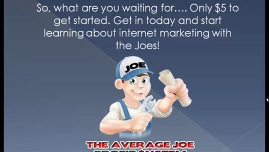 The Average Joe Profit System Fast Online Business - Money Making Site - Video Dailymotion