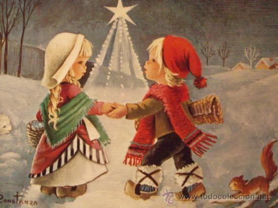 Las 25 mejores ideas sobre bricolaje de tarjetas de - Postal navidad original ...