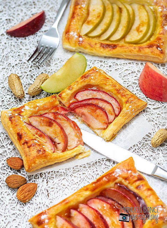 Sfogliatine alle mele, dalla ricetta di @chiarapassion