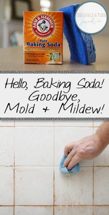 Hello, Baking Soda! Goodbye, Mold & Mildew! How to Get Rid of Mold and Mildew, Getting Rid of Mold and Mildew, Easy Ways to Get Rid of Mold and Mildew, Uses for Baking Soda, Popular Pin