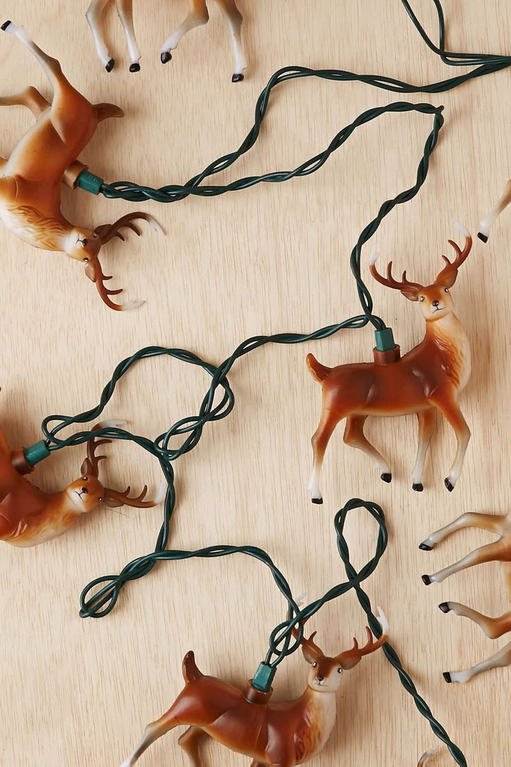 Deer String Lights - Urban Outfitters