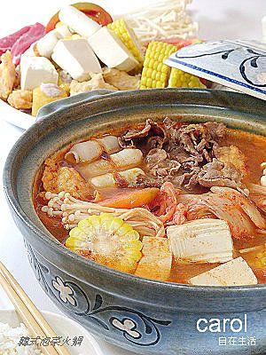 Carol 自在生活  : 韓式泡菜火鍋