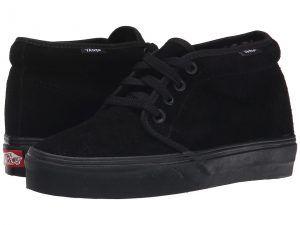 Vans Chukka Boot Core Classics (Black/Black (Suede)) Shoes