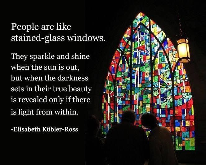 Elisabeth kubler ross quote teaching death dying for Window quoter