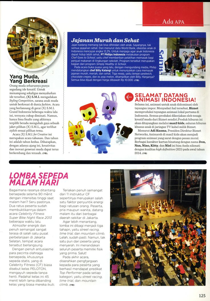 (X)S.M.L Styling Competition Grand Final article is appeared on Women's Health Indonesia - September 2013