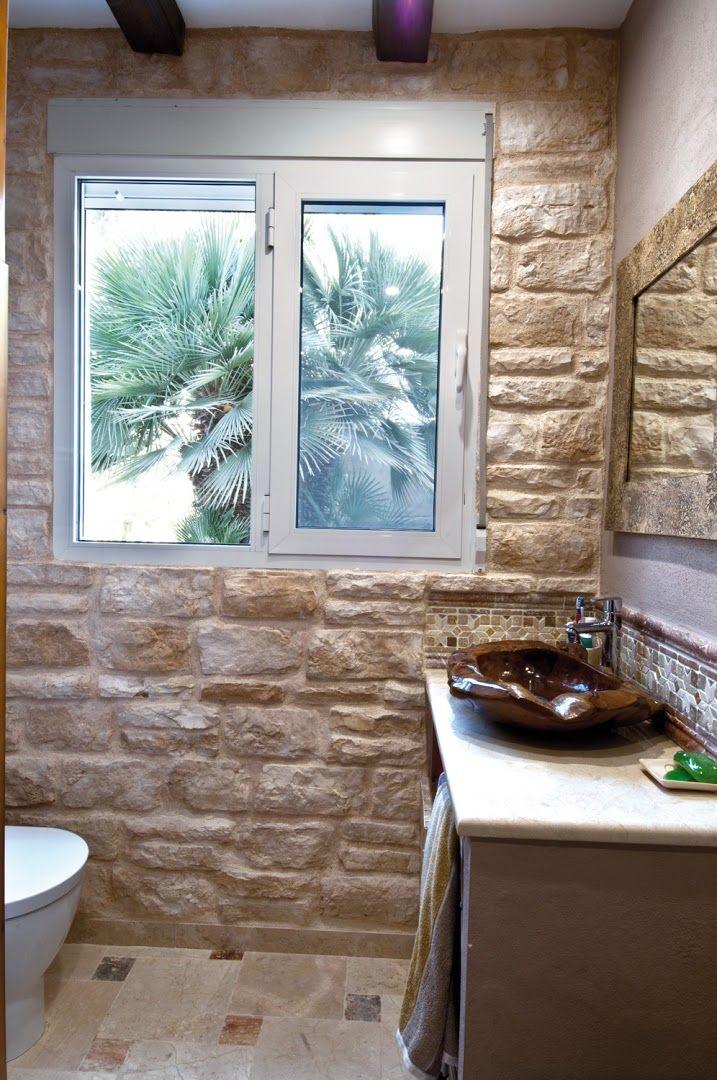 Cuarto de baño con revestimiento modelo Piamonte.