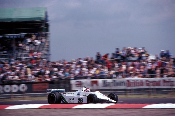 Clay Regazzoni in the FW07 at the 1979 British GP Silverstone. The first win for Williams F11979 Scheckter, 1970S Racing, 600 Racing, Regazzoni Williams, Clay Regazzoni, British Gp, 1979 British, Britain Regazzoni, Williams Fw07