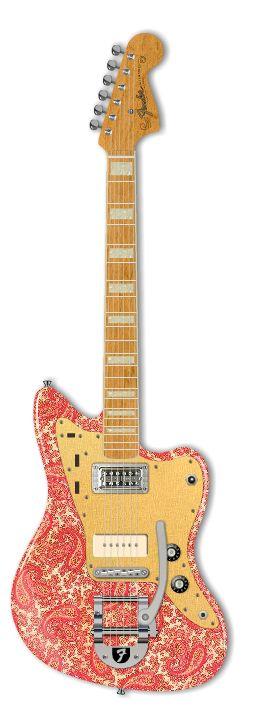 Fender Custom Paisley Whatever :)