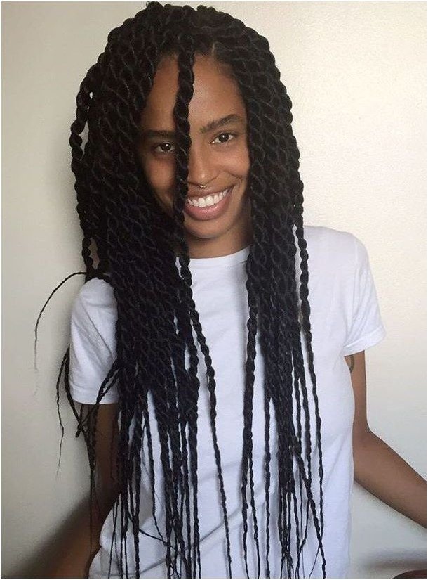 Hairstyle Braid Long Senegalese Twists With Thin Ends Click For More Senegalese Twist Hairstyles Hair Styles Twist Hairstyles