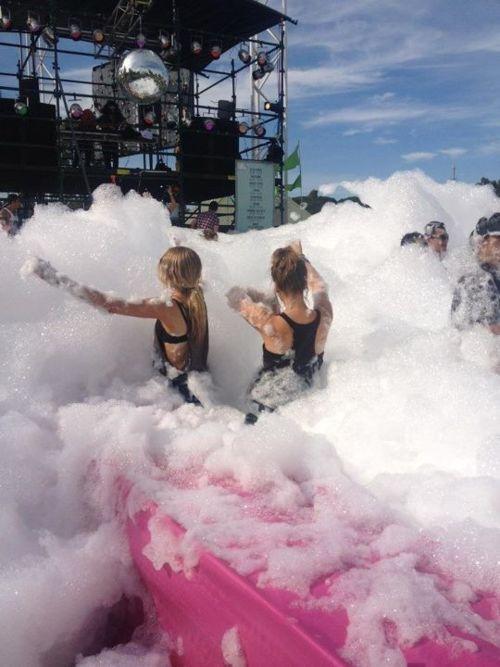 Bubble party.