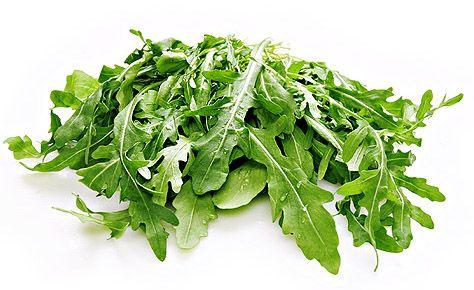 Руккола и кресс салат